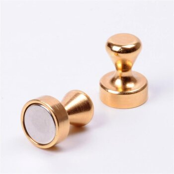 Mini Noten Magnet (gold)
