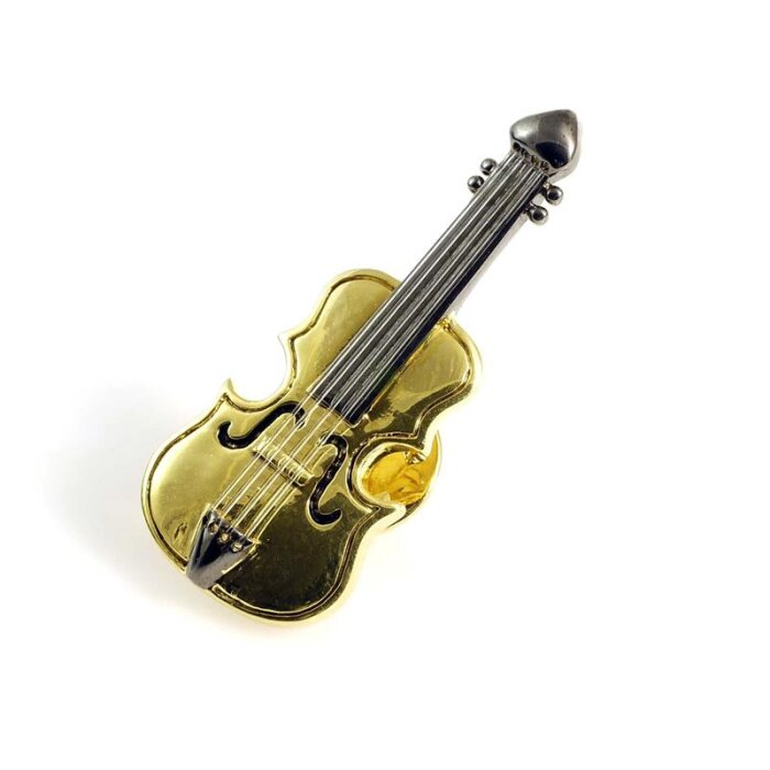 Pin Cello (vergoldet)