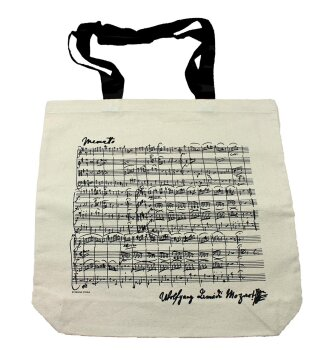 Shopper Mozart natur