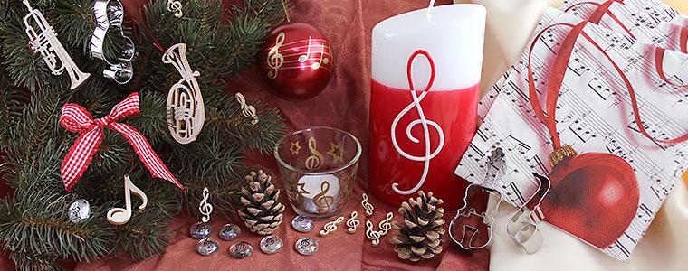 Musikalische Weihnachtsdeko
